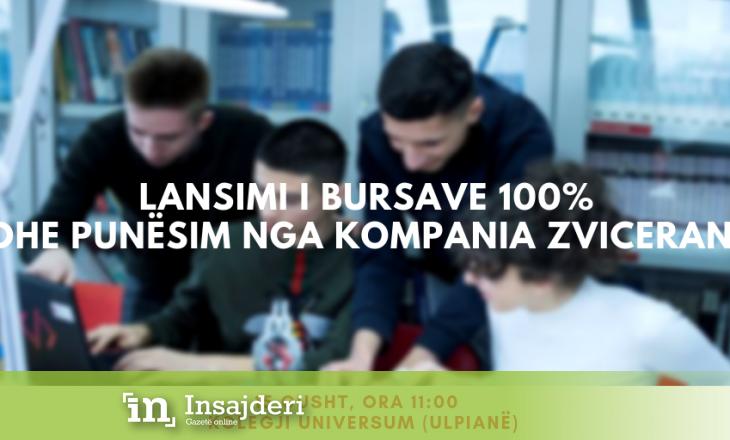 Kompania zvicerane paguan studimet për 40 maturantë dhe i siguron punësim që nga viti i parë i studimeve