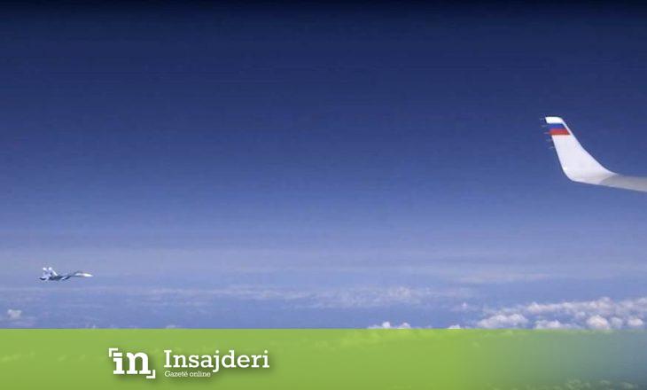 Rusia: Aeroplani i NATO-s iu afrua aeroplanit të Shoigut