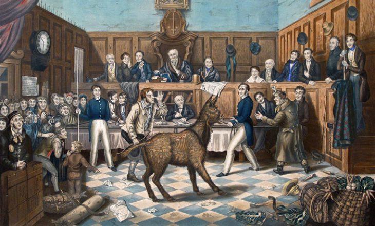 Mesjeta, periudha kur dënoheshin me vdekje edhe kafshët