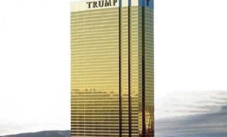 Trump publikon pamje të ndërtesës së vet në Grenlandë