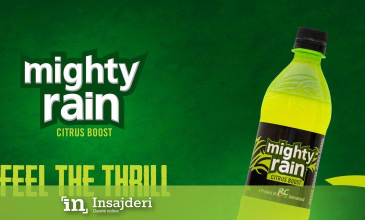 Inovacioni më i ri nga Fluidi, pija Mighty Rain