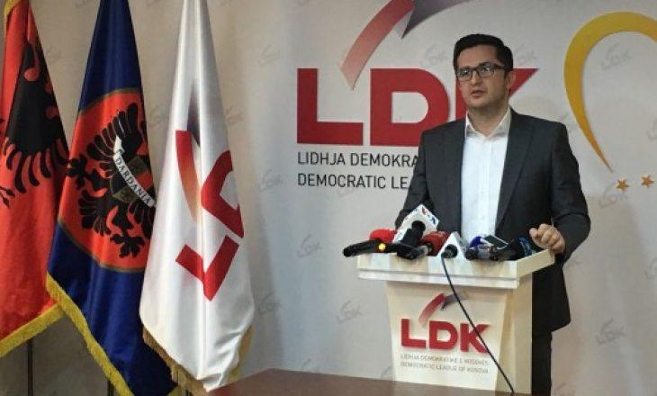 Besian Mustafa kandidat për kryetar të LDK-së