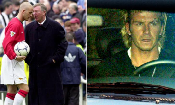 Forlan zbulon sherrin kur Ferguson i çau vetullën Beckhamit – Këto detaje mund t'iu kenë ikur