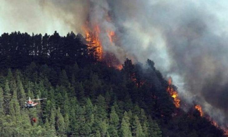 Zjarr në ishujt Kanare, mijëra njerëz të evakuuar