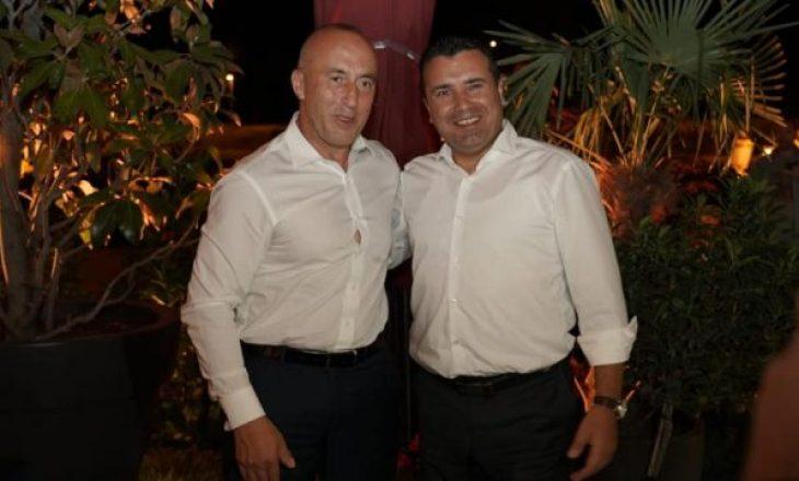 Haradinaj në një festë në Shkup, takon Zaevin