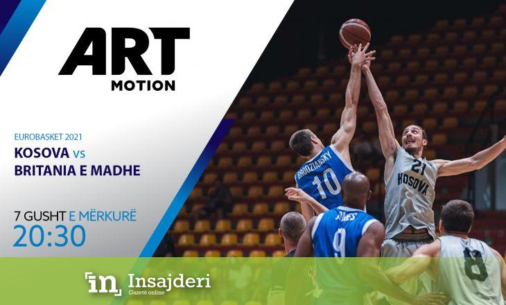 Ndeshjen vendimtare të Kosovës për në Eurobasket mund ta ndiqni në Artmotion