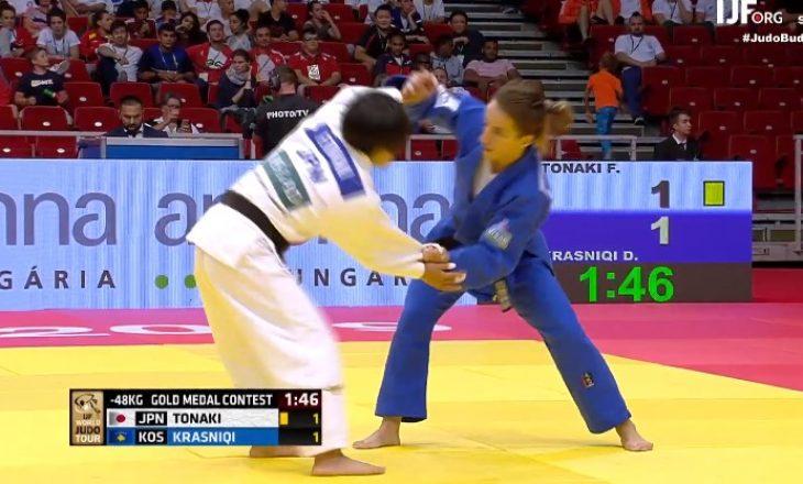 Distria Krasniqi në gjysmëfinale të Kampionatit Botëror në Japoni