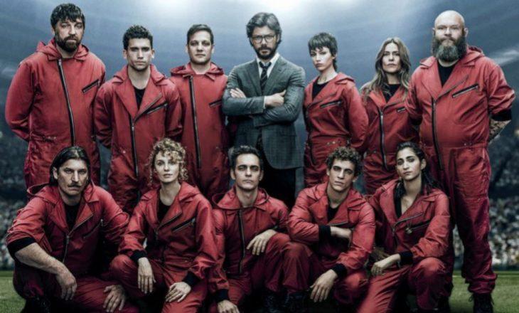 """Përfundojnë xhirimet e sezonit të katërt të """"La Casa de Papel"""""""