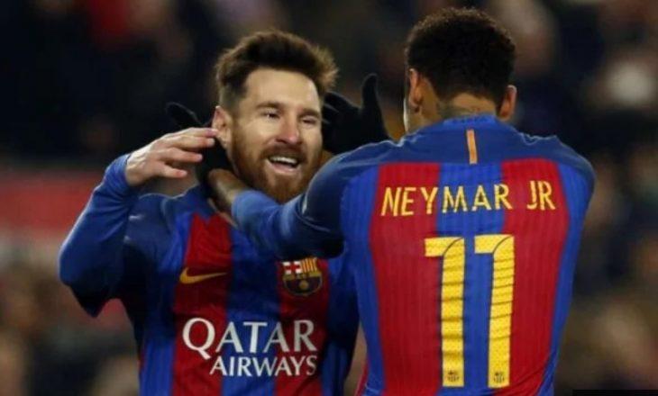 """Messi """"ka vendosur"""" për të ardhmen e Neymarit"""