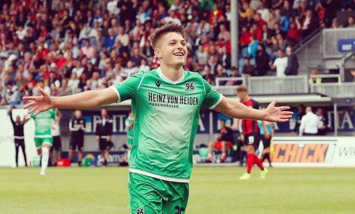 Muslija i lumtur me golin e parë në Bundesliga 2