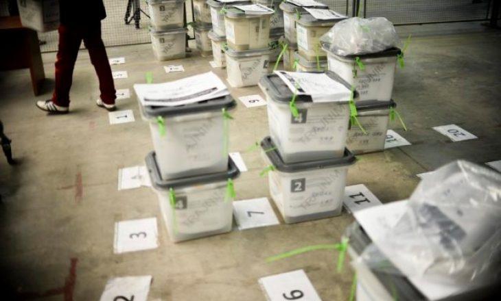 Rinumërohen mbi 58% e vendvotimeve