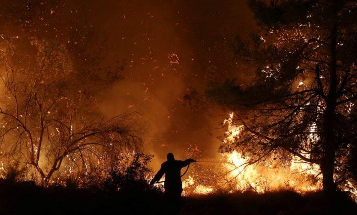 Zjarr në Kretë, digjet mali Pantokrator