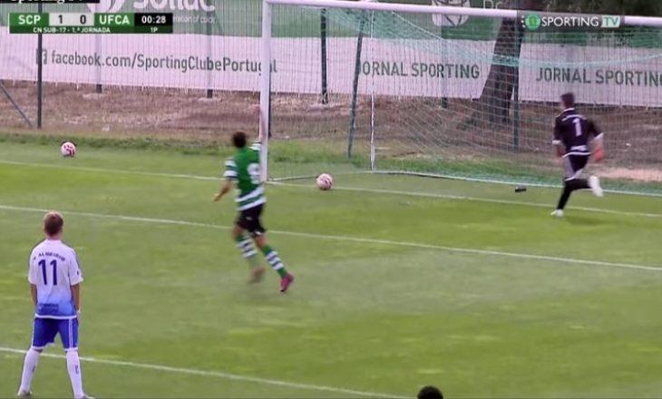 Starti më unik i një ndeshjeje – 'shënojnë' gol pa e prekur fare topin
