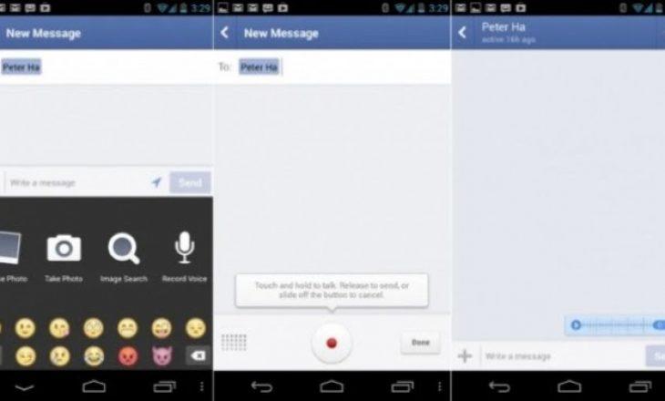 Facebook përgjoi dhe mblodhi mesazhet me zë nga përdoruesit