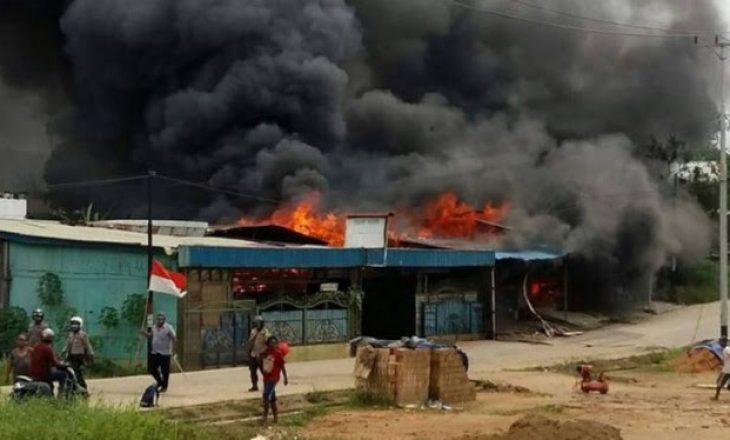 Protestuesit djegin burgun, arratisen 250 të burgosur