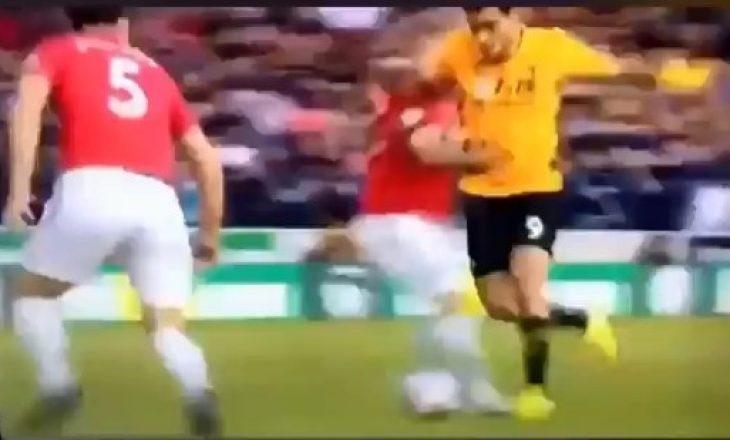 Ylli i Wolvesit e turpëroi 80 milionëshin e Unitedit [Video]