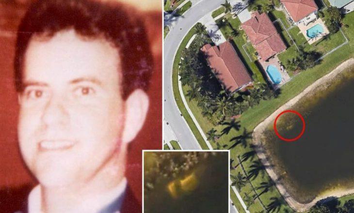 Skeleti i burrit të zhdukur në vitin 1997, gjendet me Google Earth