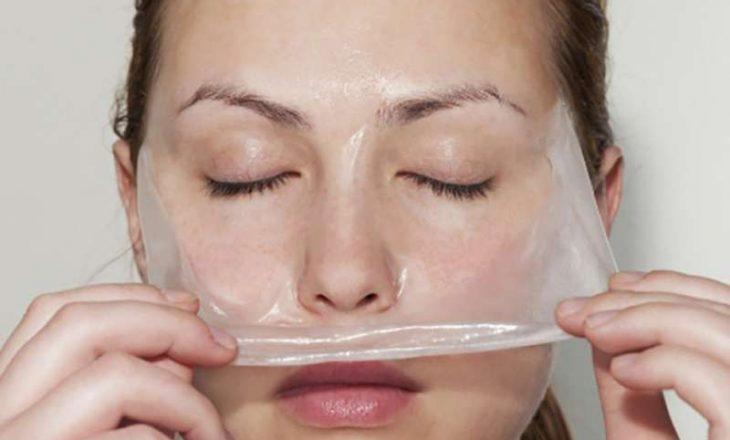 Maska natyrale që zhduk qimet e fytyrës