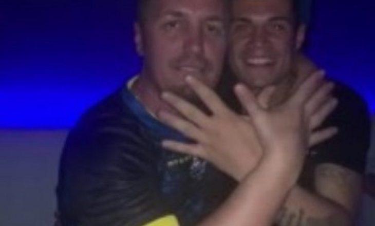Blero dhe Granit Xhaka festuan së bashku pas ndeshjes Angli – Kosovë