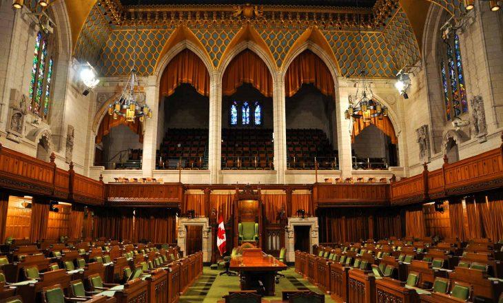 Shpërndahet kuvendi në Kanada
