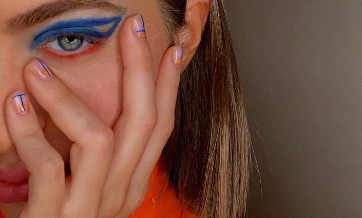 Si duhet ta bësh penelin në bazë të formës së syrit