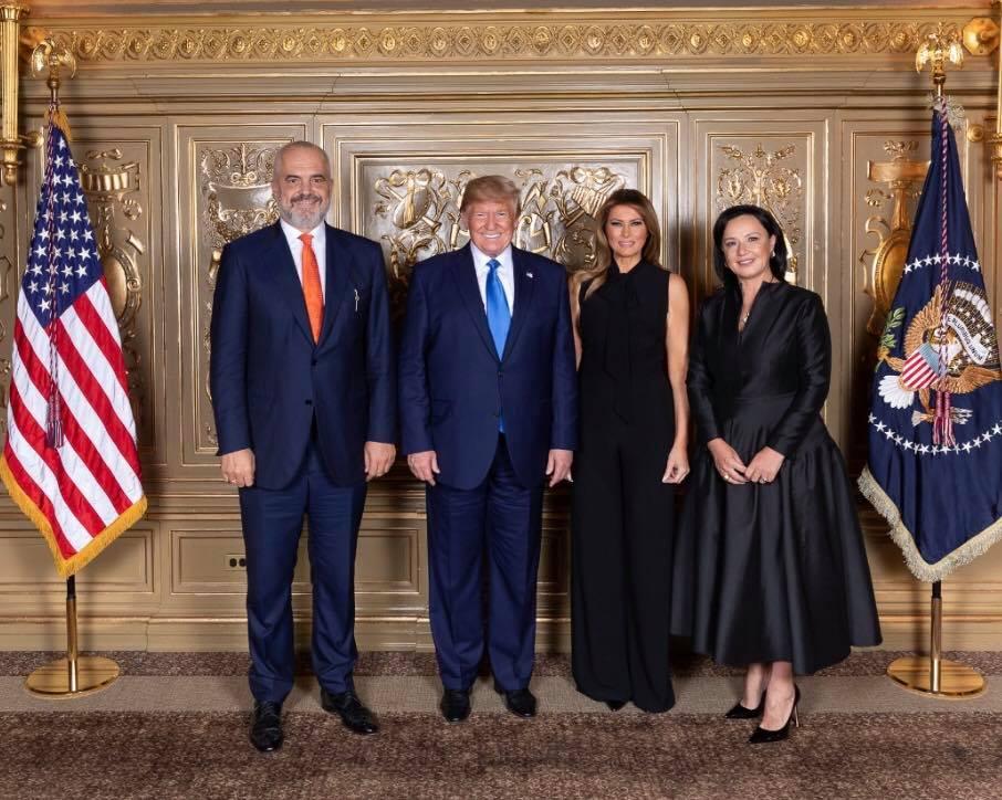 Image result for rama  Trumpin në Nju Jork