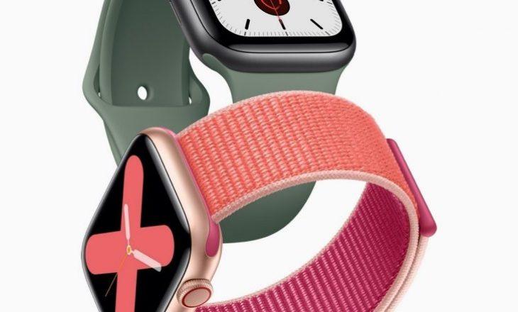 Njihuni me Apple Watch 5, ora e re e mençur e kompanisë