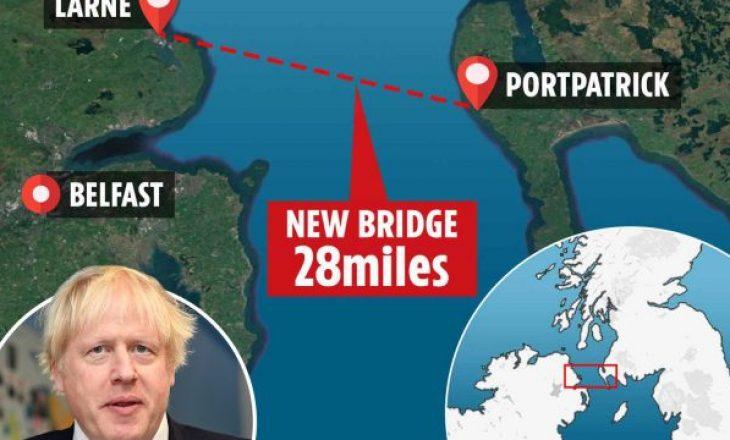Plani i Johnson – 15 miliardë funta për një urë mes Skocisë dhe Irlandës së Veriut