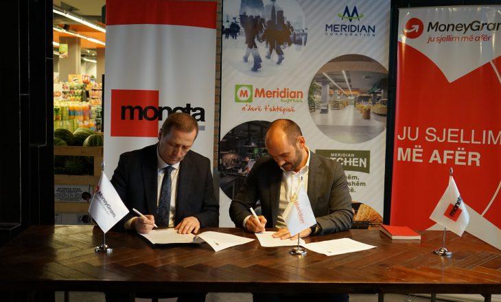 Moneta- MoneyGram zgjeron rrjetin e biznesit në dyqanet e Meridian Express