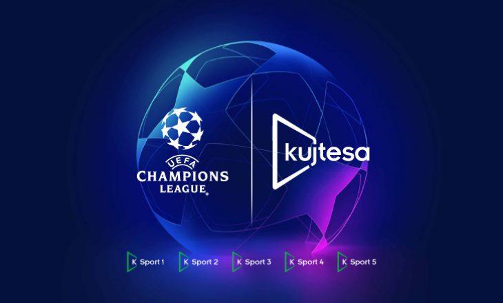 Ndiqni rikthimin e Champions League sonte, vetëm në Kujtesa