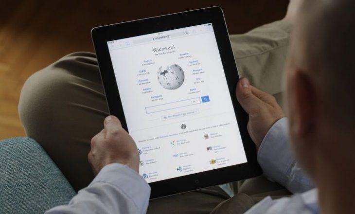 Rikthehet sërish në funksion, Wikipedia ishte bllokuar si pasojë e një sulmi kibernetik