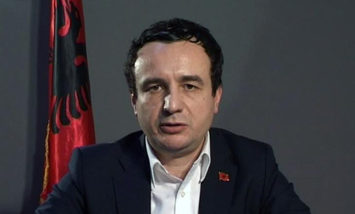 Marrëveshja LDK-VV, Kurti deklarohet për postin e presidentit