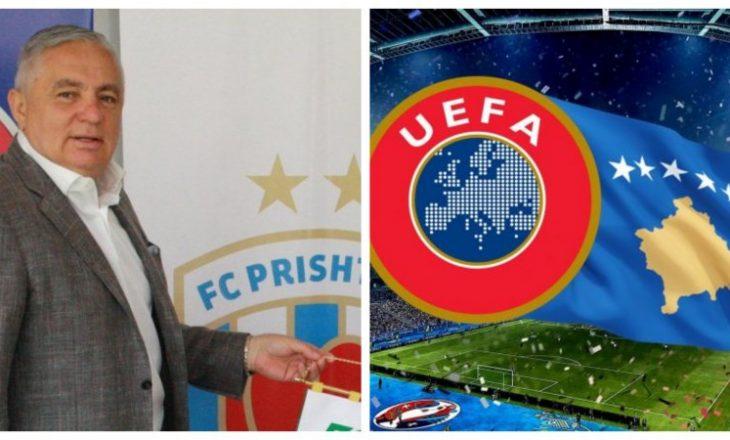 Remzi Ejupi: UEFA dhe FIFA i kanë shumë borxhe Kosovës