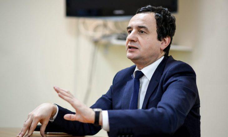 Kurti: LDK-ja parimisht ka pranuar koalicion me ne, nesër do të takohem me zyrtarë të saj