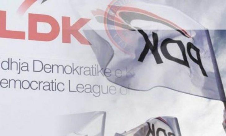 """""""Strukturat e LDK-së po koordinohen në terren me ato të PDK-së"""""""