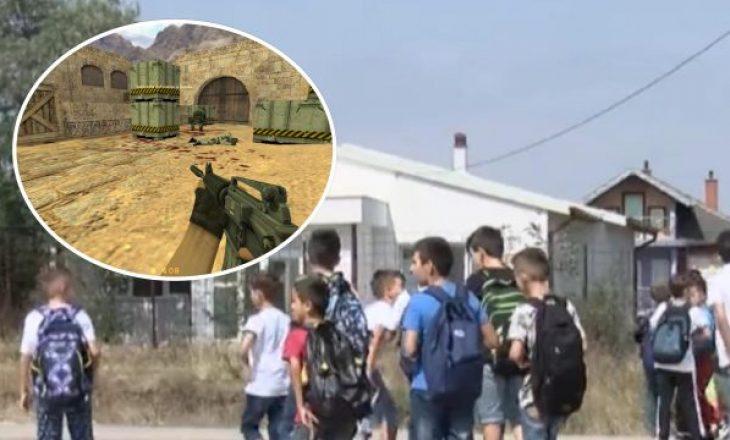 """""""Counter Strike"""" pranë shkollës në Drenas – Dyshohet që drejtori e ka hapur lokalin"""