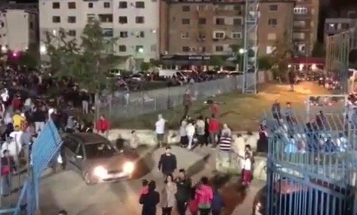 Tërmet përsëri në Shqipëri, tifozët frikësohen të futen në stadium