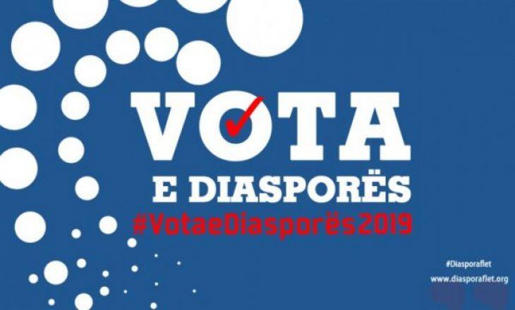 Votimi në diasporë fillon të mërkurën