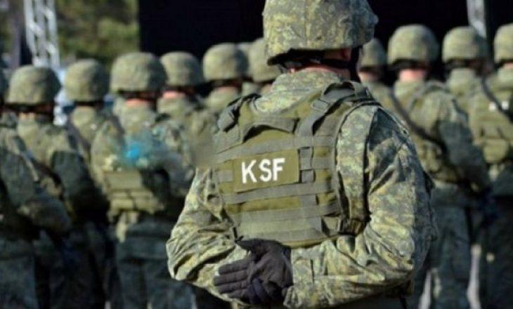Vdes një ushtar i FSK-së