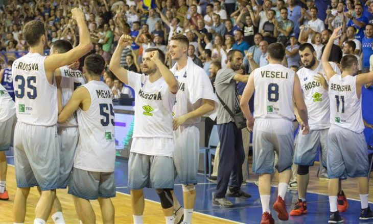 Kombëtarja e Kosovës ngjitet për 21 pozita në renditjen e FIBA-s