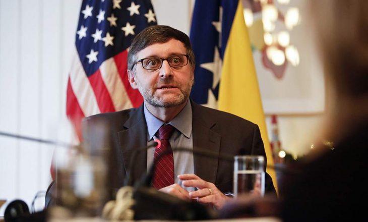 Përfaqësuesi Special i SHBA-së Matthew Palmer, do ta vizitojë Kosovën