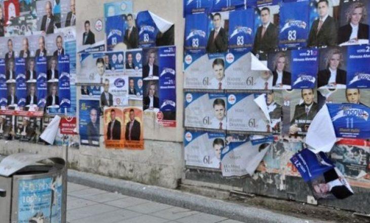 Fushata Zgjedhore, partitë mbushin me posterë qytetet