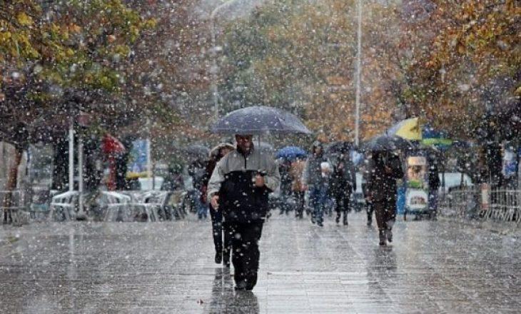 Sot në Kosovë priten reshje shiu dhe bore