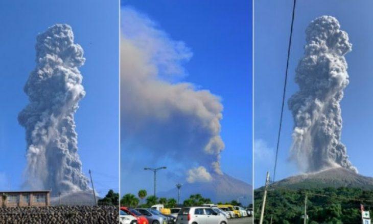 Shpërthen njëri ndër vullkanet më aktive në botë