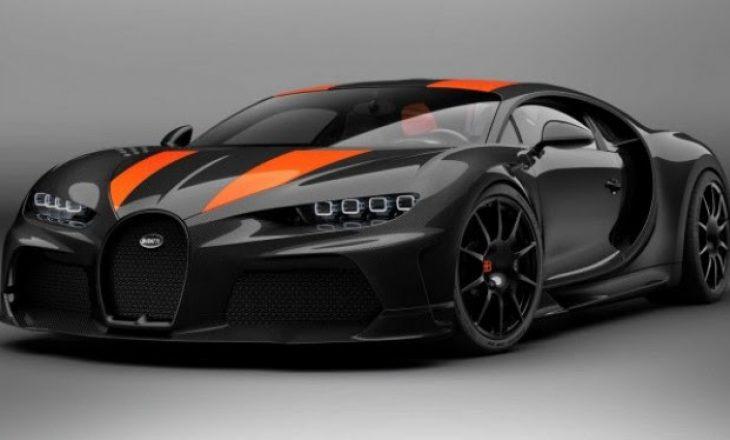 Bugatti që shkon deri 490 km/orë do të shitet për 3.5 milionë euro