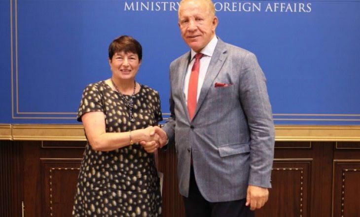Pacolli takon ambasadoren e Francës në Kosovë – Flasin për vazhdimin e dialogut me Serbinë