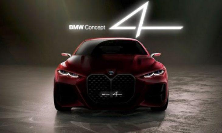 BMW eksperimenton me projektimin – Koncepti 4 zbulohet në Frankfurt