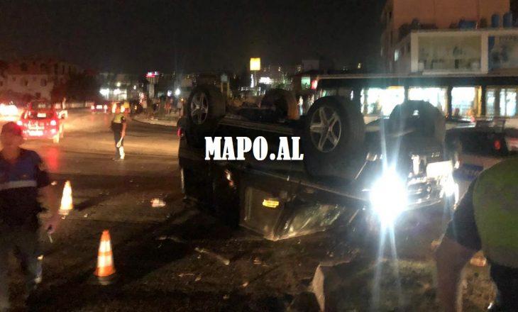 Tank me goma – Detaje mbi automjetin me targa ruse që u përplas mbrëmë në Tiranë