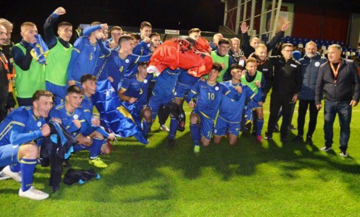 Kosova U17 merr barazim të madh ndaj Holandës si mysafir