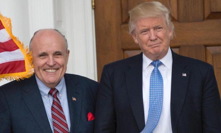 Hetimi në Kongres, Trump e mbron avokatin e tij Rudy Giuliani